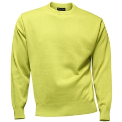 Franco Ponti Crew Neck Sweater - Lemon