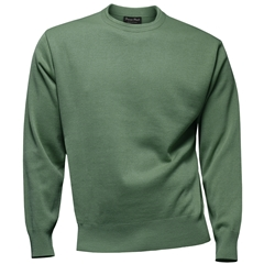 Franco Ponti Crew Neck Sweater - Mint