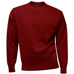 Franco Ponti Crew Neck Sweater - Red