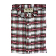 Magee Men's Dress Stewart Check Brushed Cotton Nightshirt