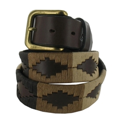 Pampeano Polo Belt - Tierra
