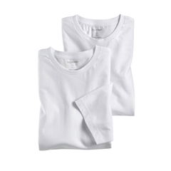 Olymp T-shirt White Crew Neck - Double Pack - 0700 12 00