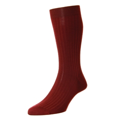 Pantherella Merino Wool Socks - Wine