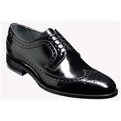 Barker Shoes Style: Woodbridge Black Polish