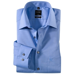 Olymp Modern Fit Shirt - Blue - 0304 64 15