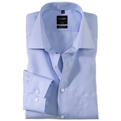 Olymp Modern Fit Shirt - Sky Blue - 0304 64 11