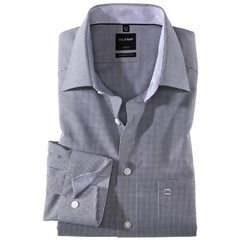Olymp Modern Fit Shirt - Black Check - 3390 64 68