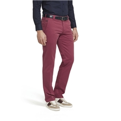 Meyer Trouser Cotton - Red - Roma 3001 56