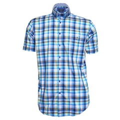 Giordano Shirt - Multi Coloured Check - Regular Fit - Size 4XL Only