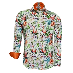 New 2018 Claudio Steve Tropical Flamingo Shirt