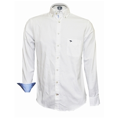 Fynch Hatton Shirt - Soft Oxford White