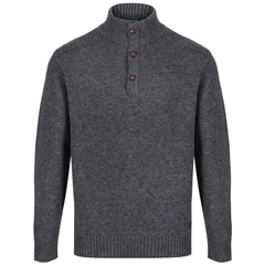 Dubarry Men's Sweater - Mallon - Graphite