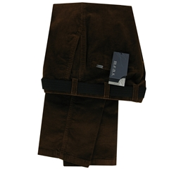 m.e.n.s. Luxury Cotton Corduroy Trouser - Tobacco Brown
