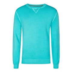 Colours & Sons Edgar Sweatshirt - Turquoise - 3XL Only