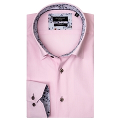New 2019 Giordano Shirt - Pink Pinpoint Oxford