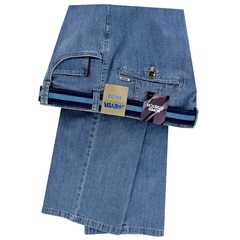Meyer Summer Stretch Denim Jean - Light Blue - Diego 4104 16
