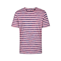 Colours & Sons Mario Striped T-shirt - Pink