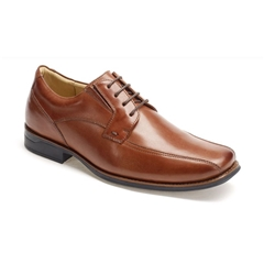 Anatomic & Co Derby Shoes - Formosa - Havana Brown Touch