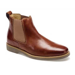 Anatomic & Co Chelsea Boots - Cardoso - Havana Brown Touch