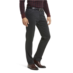 Meyer Cotton Trouser - Charcoal - Chicago 5568 08