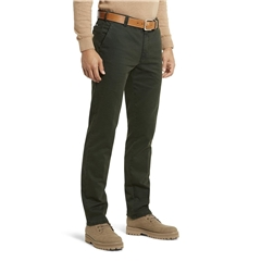 Meyer Autumn Cotton Trouser - Dark Green - 5548 28