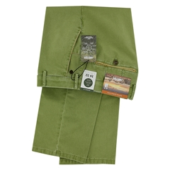 New 2021 Summer Meyer Cotton Trouser - Green - New York 5001 22