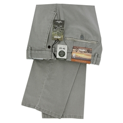 New 2021 Summer Meyer Cotton Trouser - Silver Grey  - New York 5001 31
