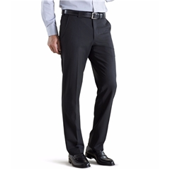 Meyer Trouser Tropical Wool Mix - Black - Roma 344 09