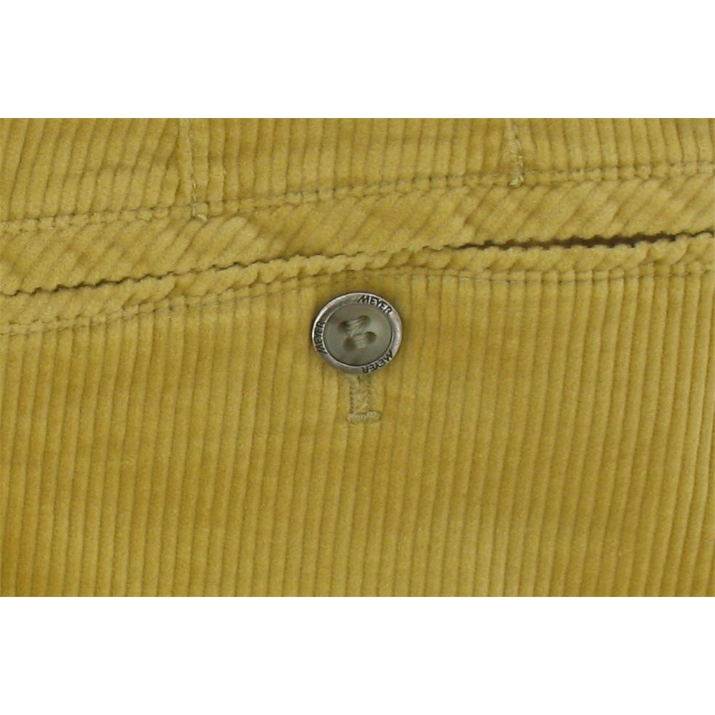 "Meyer Corduroy Trouser - Corn - Style Madrid 7651 41 - Size 36""R Only"