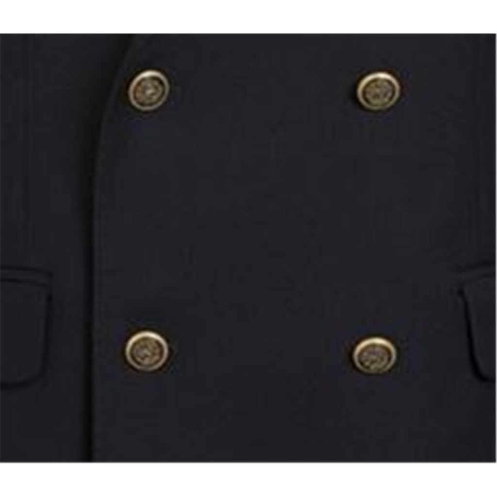 Magee Double Breasted Blazer - Lightweight Wool - Navy - Cloth No 8051