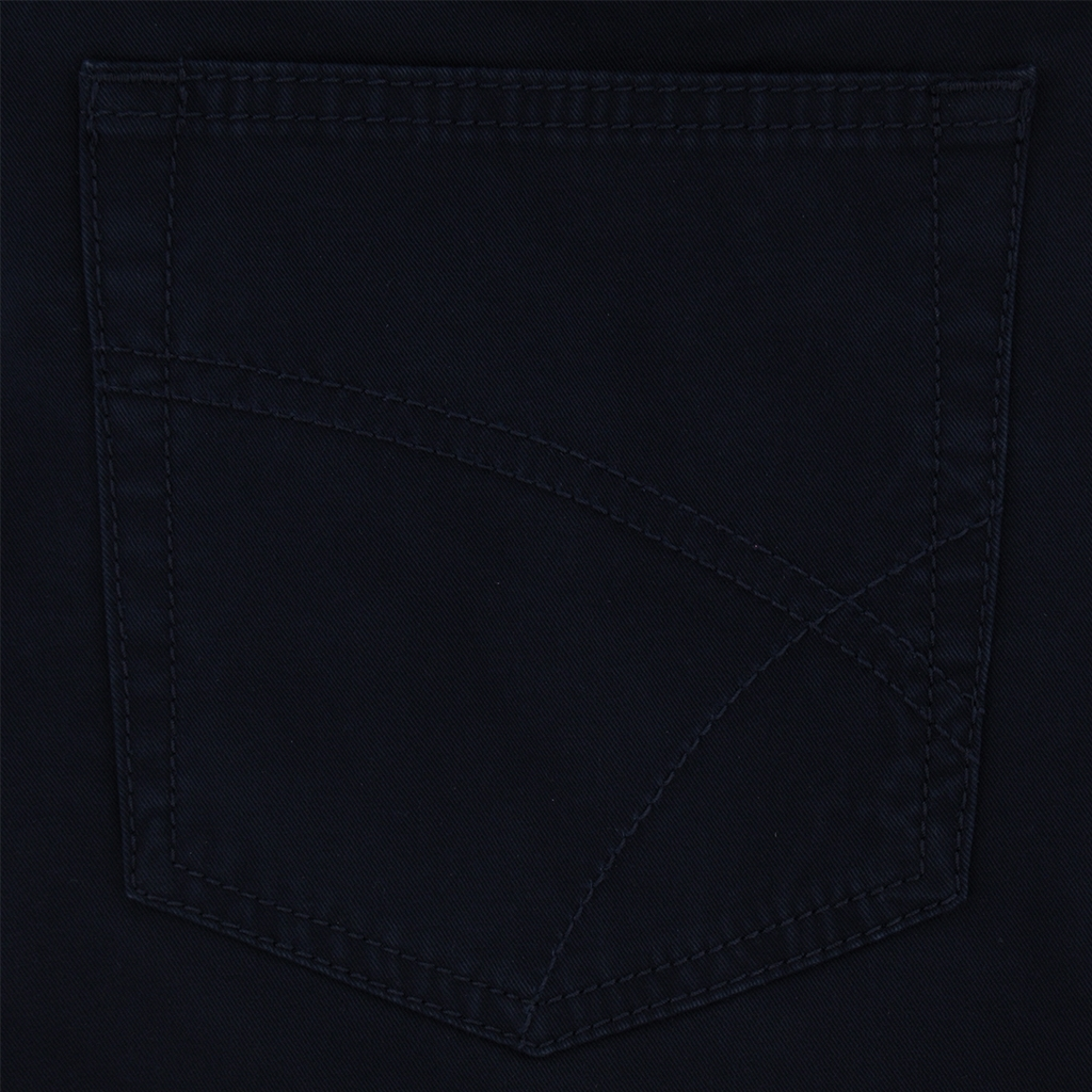 Bruhl Cotton Gabardine Jean - Navy - Genua B 180039 680