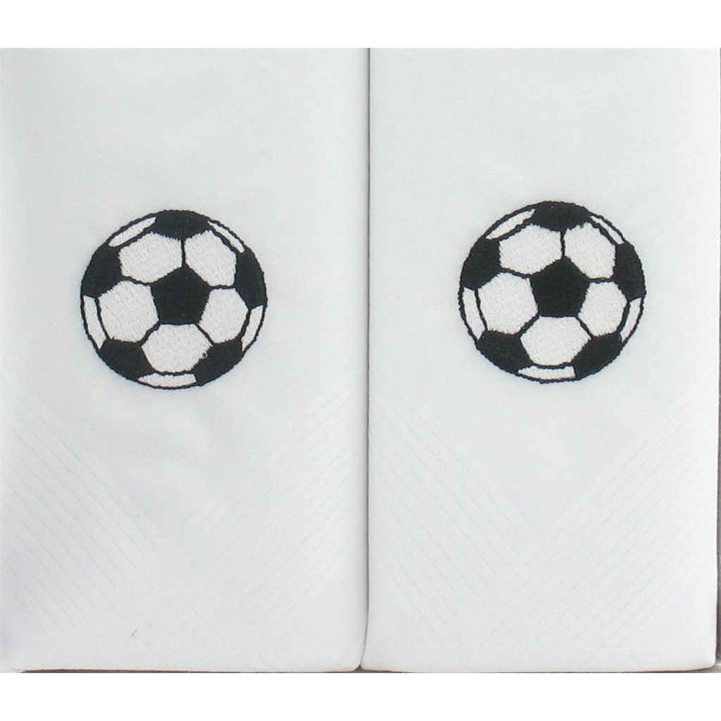 Football Design Men's Handkerchiefs - Football Handkerchiefs