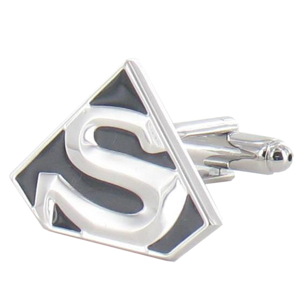 Superman Cufflinks - Superman Design Cuff Links