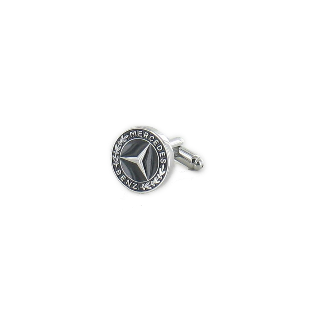 Mercedes Benz Cufflinks - Mercedes Design Cuff Links