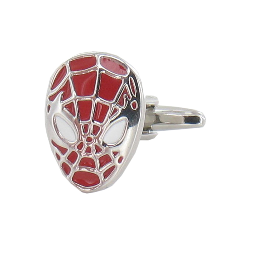 Spiderman Cufflinks - Spiderman Design Cuff Links