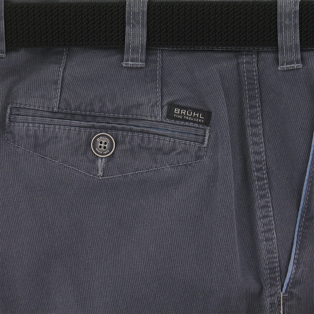 Bruhl Summer Trouser - Blue - Venice B Turn 181800 680