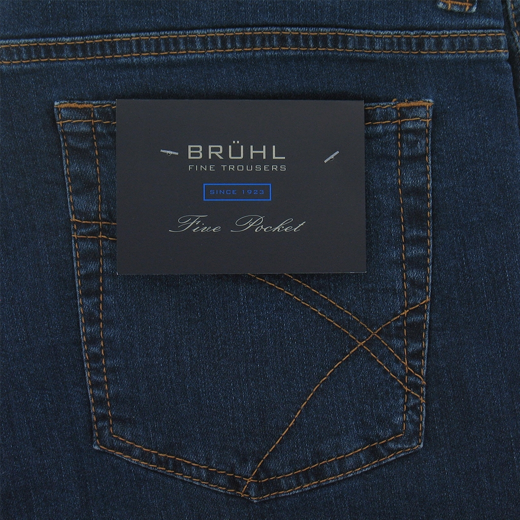 Bruhl Denim Jean - Blue - Genua 190340 910