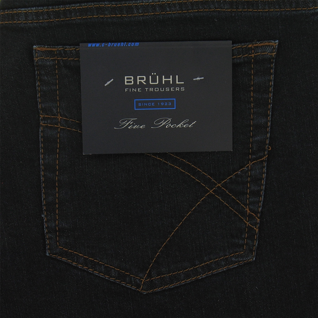Spring 2019 Bruhl Denim Jean - Dark Blue - Genua B 190900 930