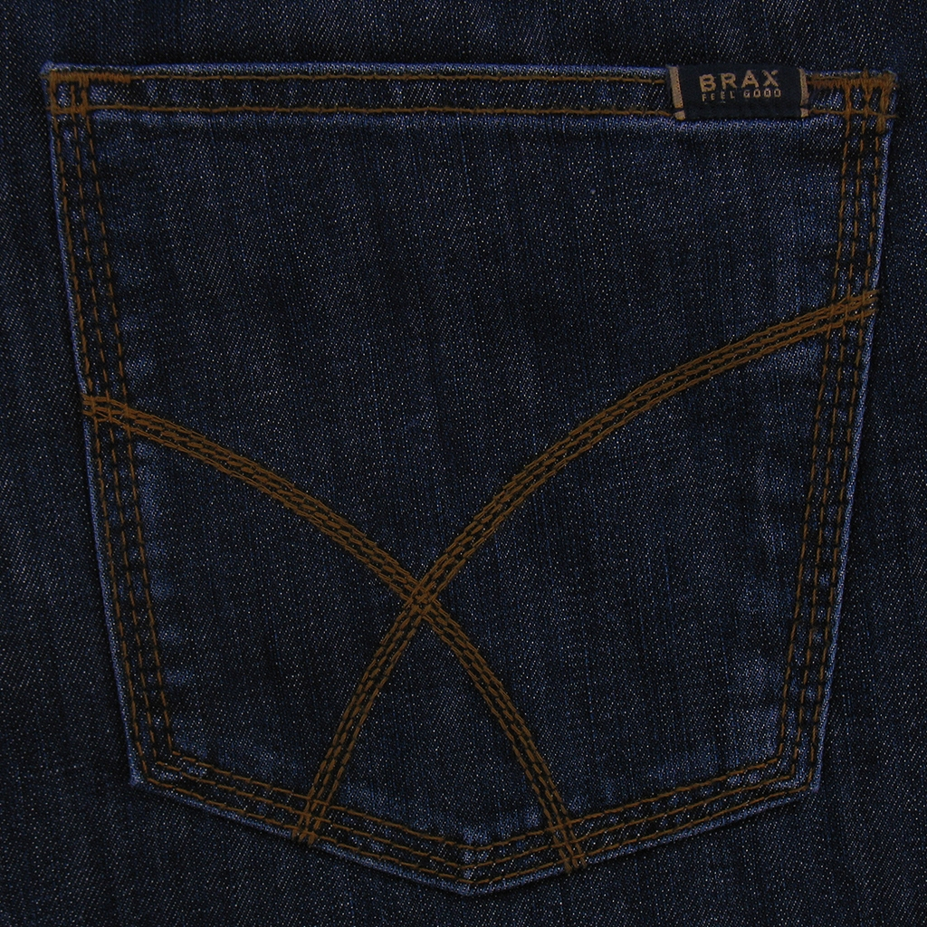 Autumn 2018 Brax Denim Jean - Authentic Ring Denim -  Dark Blue