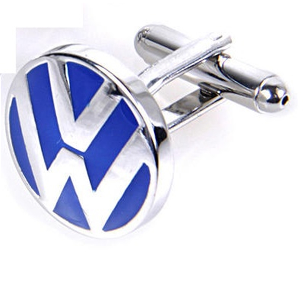 Volkswagen Car Logo Cufflinks - VW Car Logo Design Cuff Links
