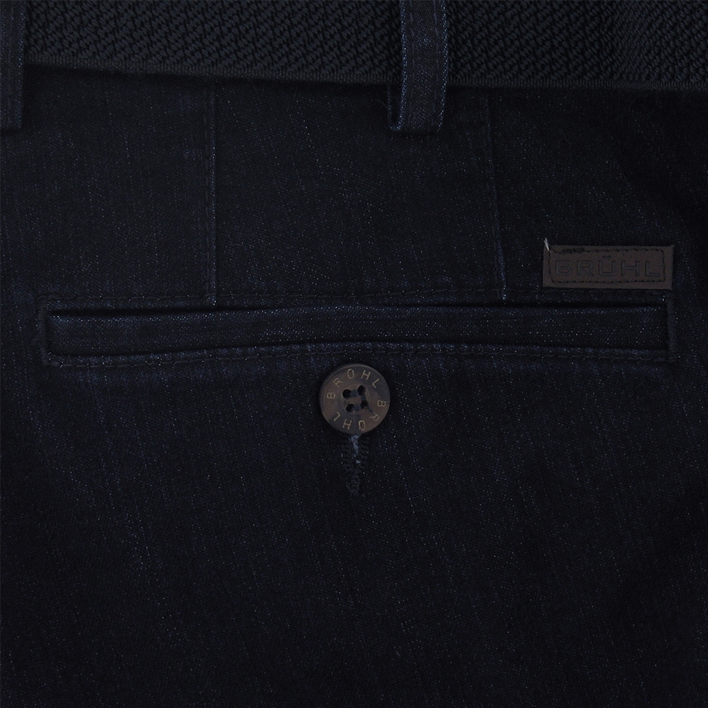 Autumn 2018 Bruhl Denim Trouser - Dark Blue - Montana 190490 910