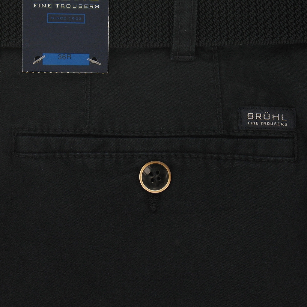 Autumn 2018 Bruhl Pima Cotton Gabardine Trouser - Navy - Montana 183230 690