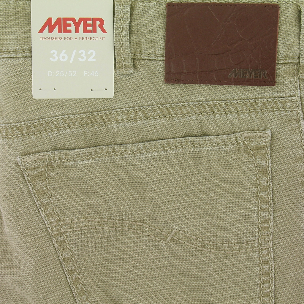 Meyer Textured Cotton Jean - Dark Linen - Arizona-S 5133 43