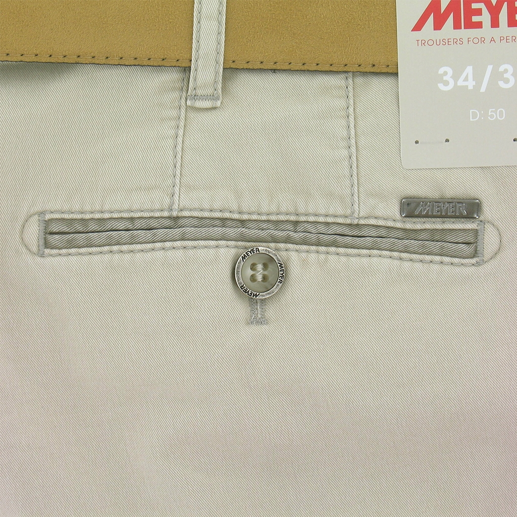 Meyer Luxury Cotton Shorts - Light Beige
