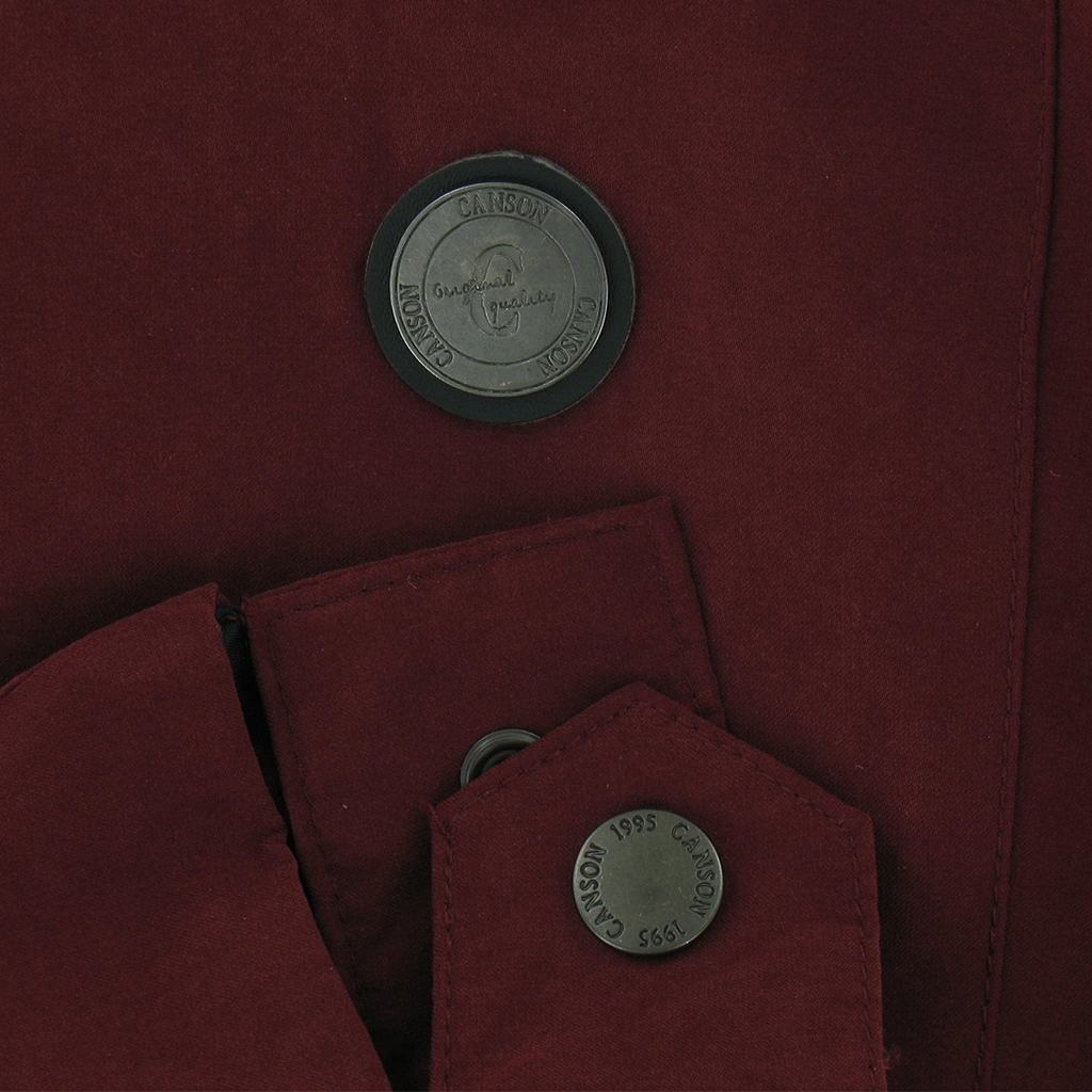 Canson of Denmark - Short Zip Jacket - Burgundy