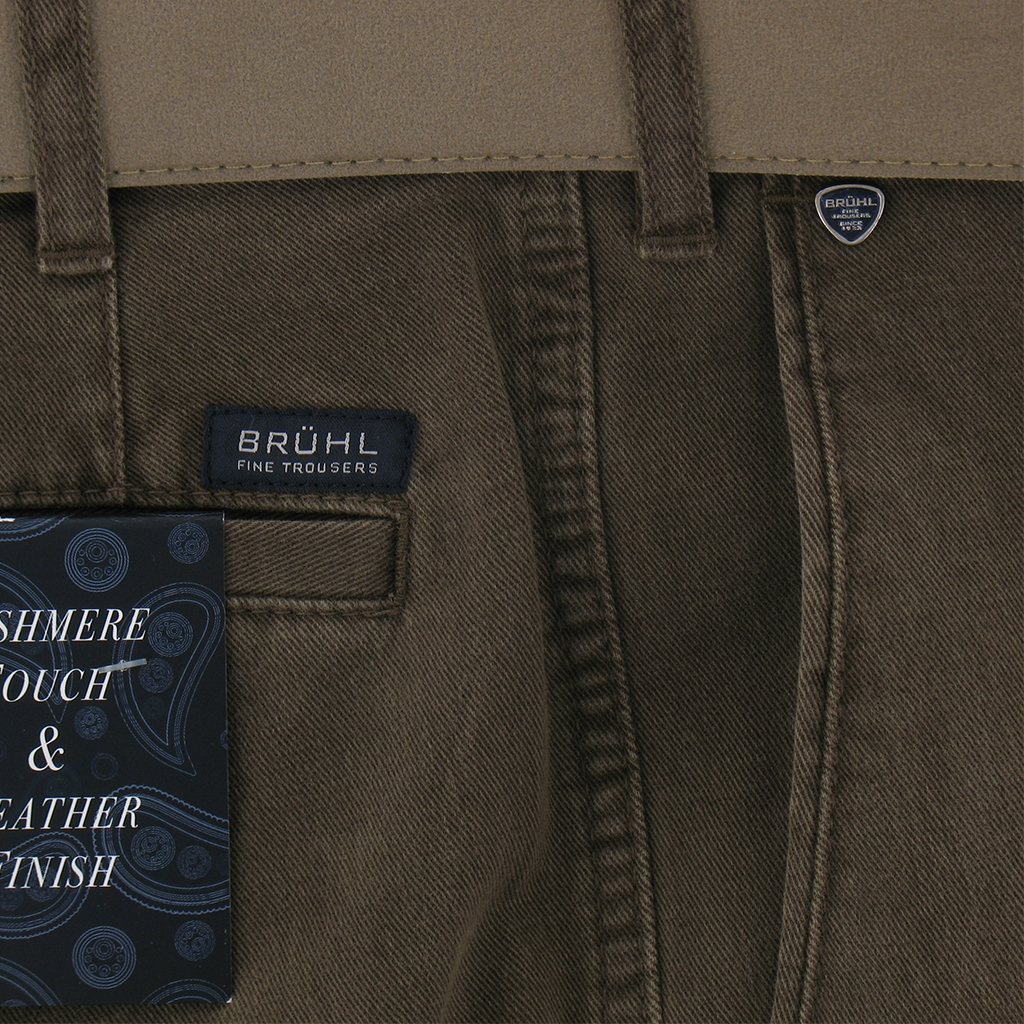Autumn 2018 Bruhl Luxury Cotton Trouser - Donkey - Montana 182310 520
