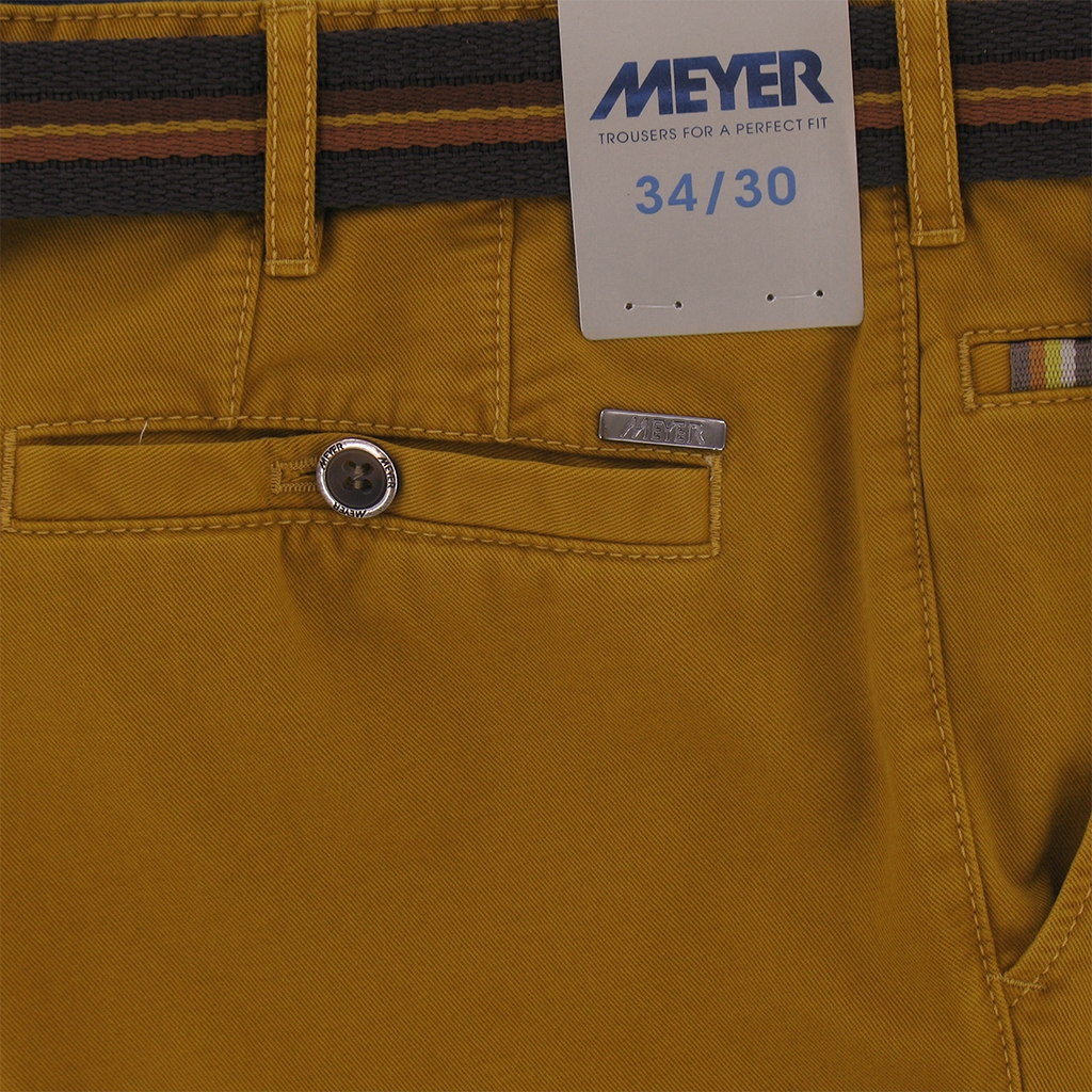 "Meyer Trousers Winter Cotton - Ochre - Style Roma 5502 45 - Size 42""S Only"