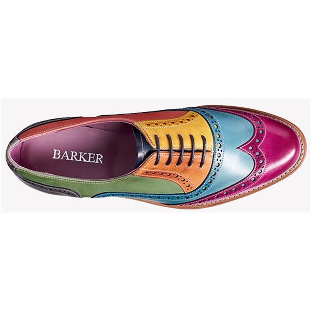 Barker Fearne - Multi Coloured Hand-Painted