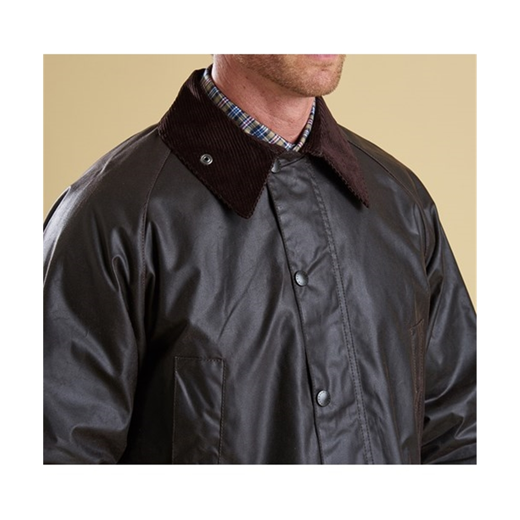 New 2018 Barbour Men's Bedale Wax Jacket - Rustic