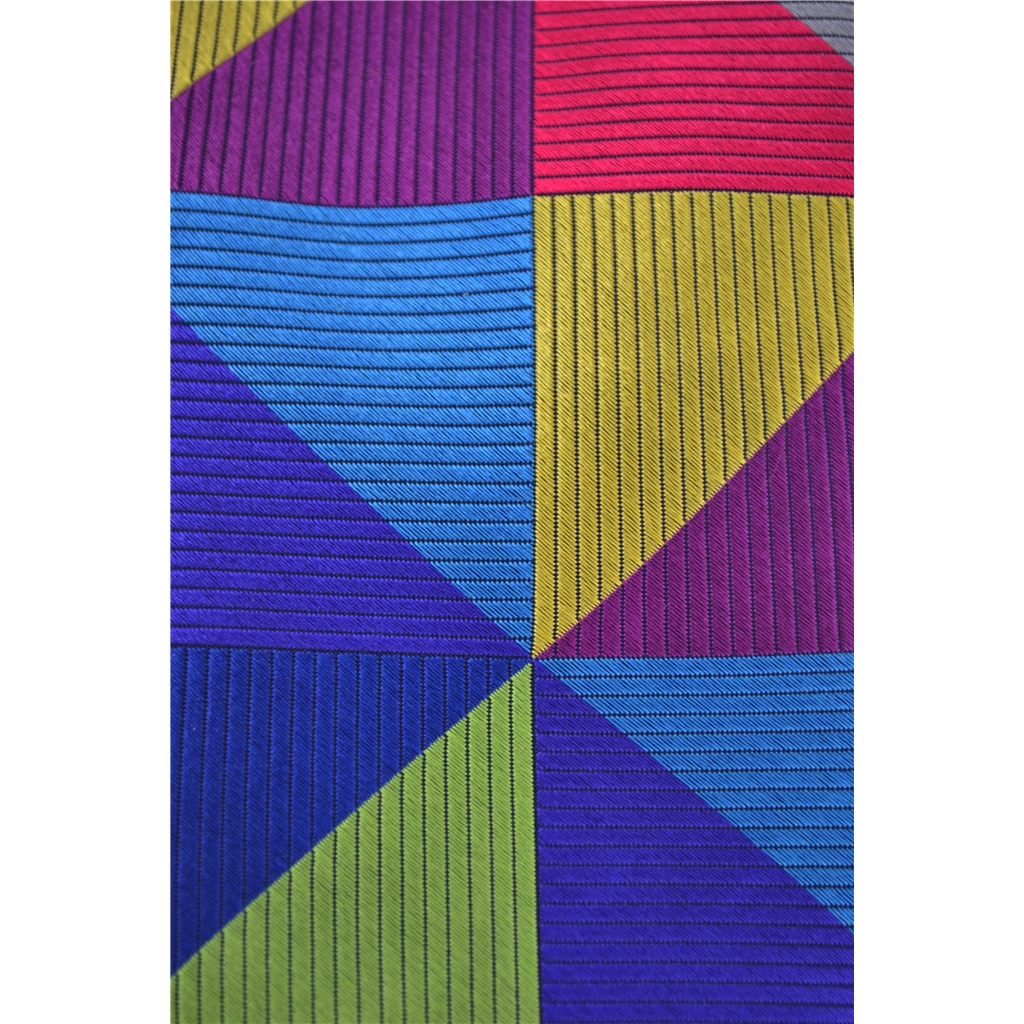 Van Buck Limited Edition - Multi Coloured Triangular Design Tie